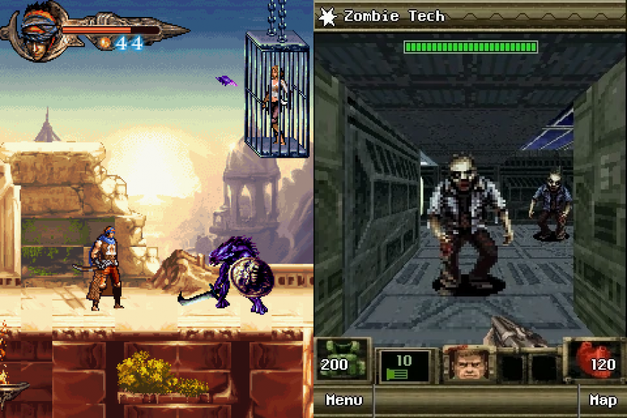 Prince of Persia and Doom: RPG in J2ME