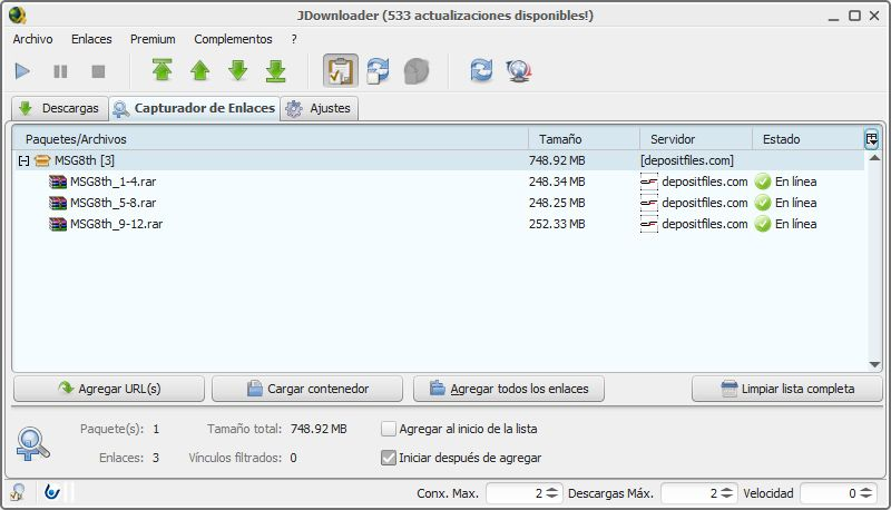 How JDownloader works: The most complete download manager