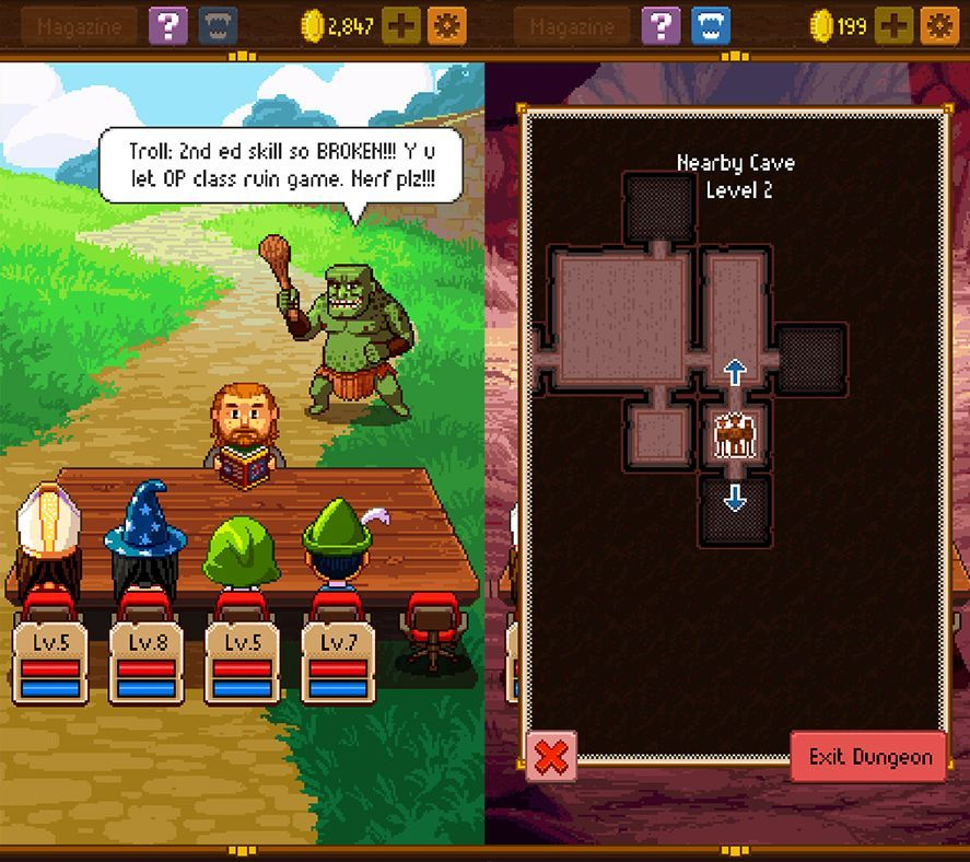knights of pen and paper 2 apk full
