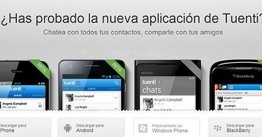 mensajería instantánea, Tuenti Social Messenger