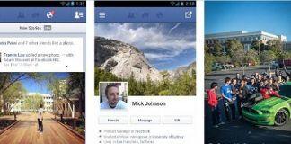 Facebook para Android, Facebook para iOS