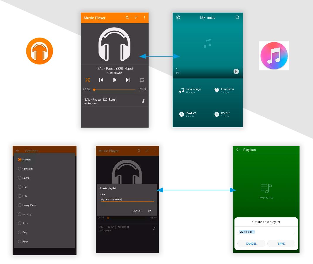 Música 1 Simplifica tu móvil Android con estas apps 'open source'