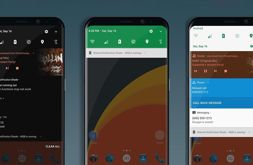 Material Notification Shade featured Cómo personalizar la barra de notificaciones en Android
