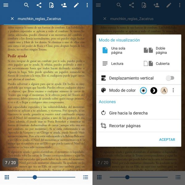 Mejores apps para leer PDFs- Xobo Docs