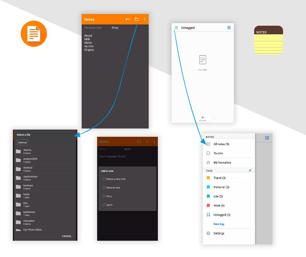 Notas Simplifica tu móvil Android con estas apps 'open source'
