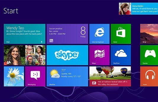 Nueva versión de Skype para Windows 8