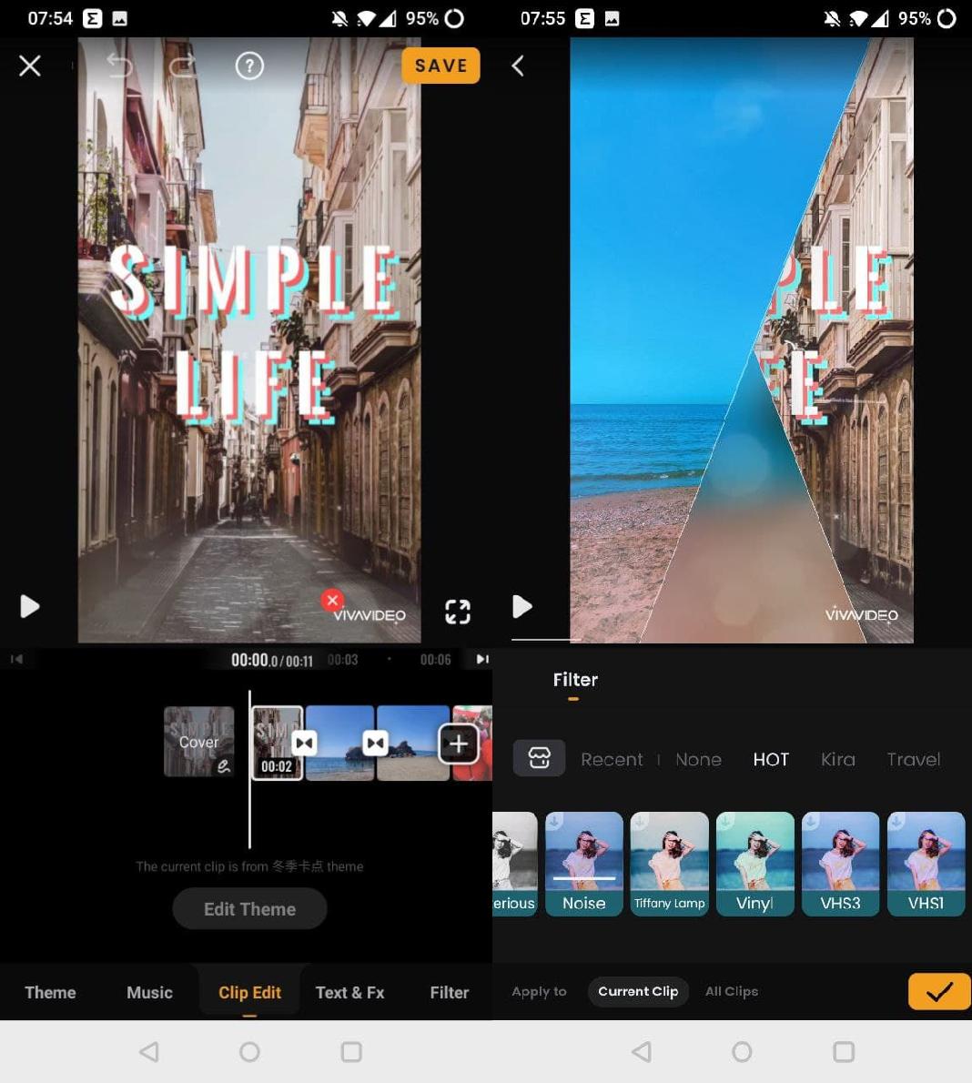 vivavideo-filters