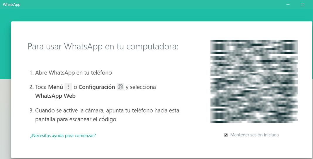 WhatsApp en PC
