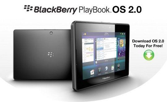 Playbook OS 2.0, la actulaización del sistema operativo de las tabletas Blackberry Playbook