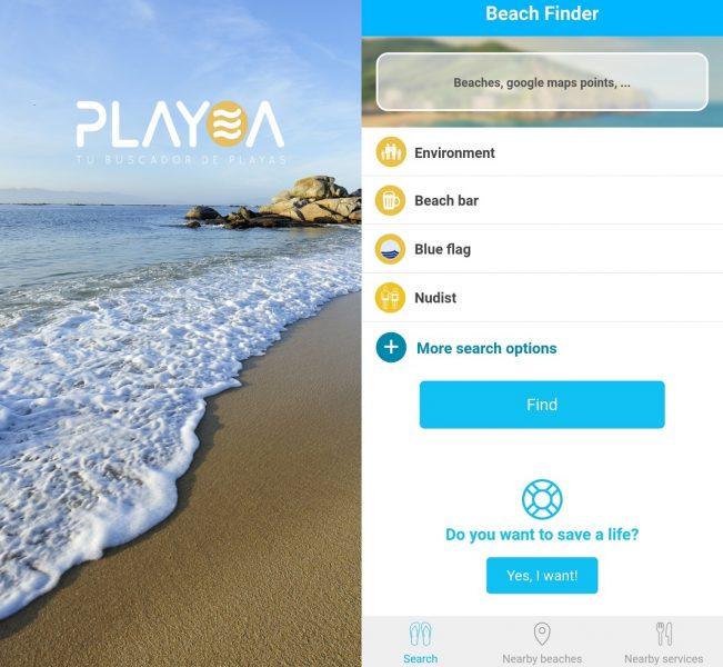 Apps de viaje - Playea