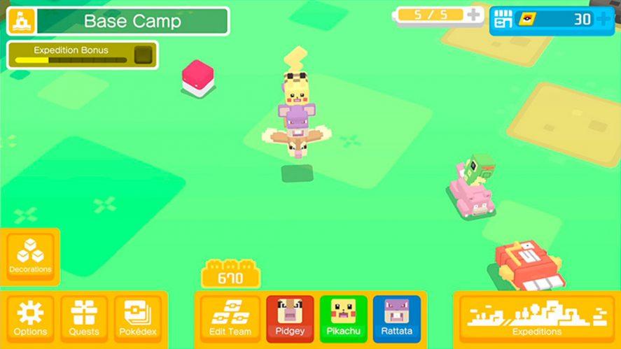 Pokemon Quest screenshot 1 Estos son todos los juegos oficiales de Pokemon para Android