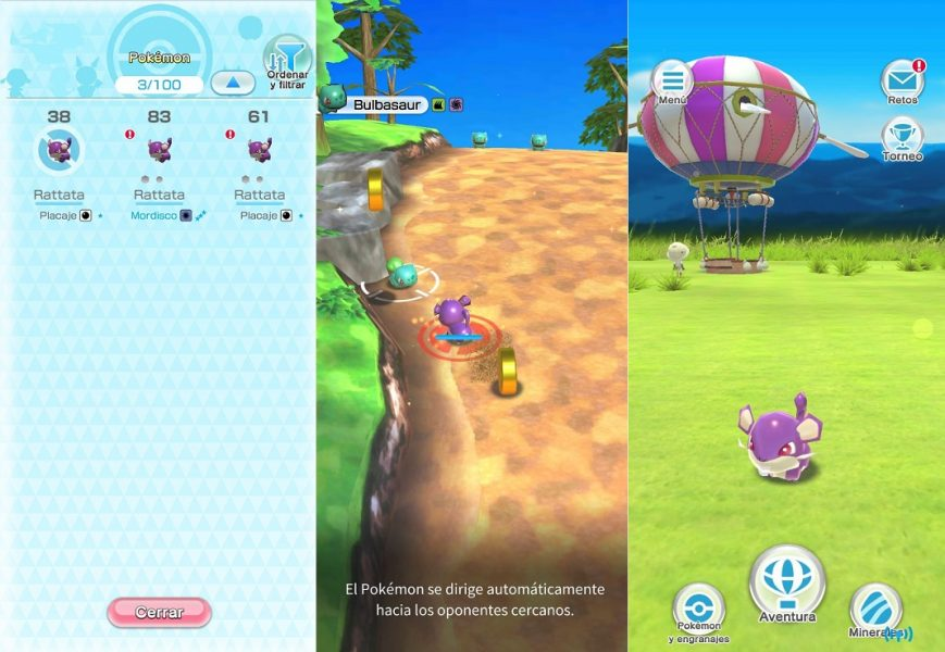 Anunciado Pokemon Rumble Rush para iOS y Android
