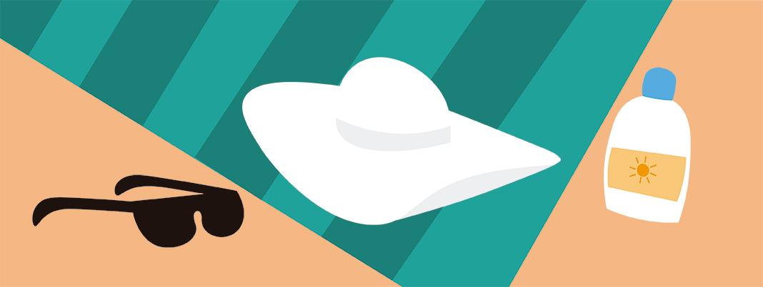 Protección playa No te olvides la toalla cuando vayas a la playa... ¡ni estas apps!