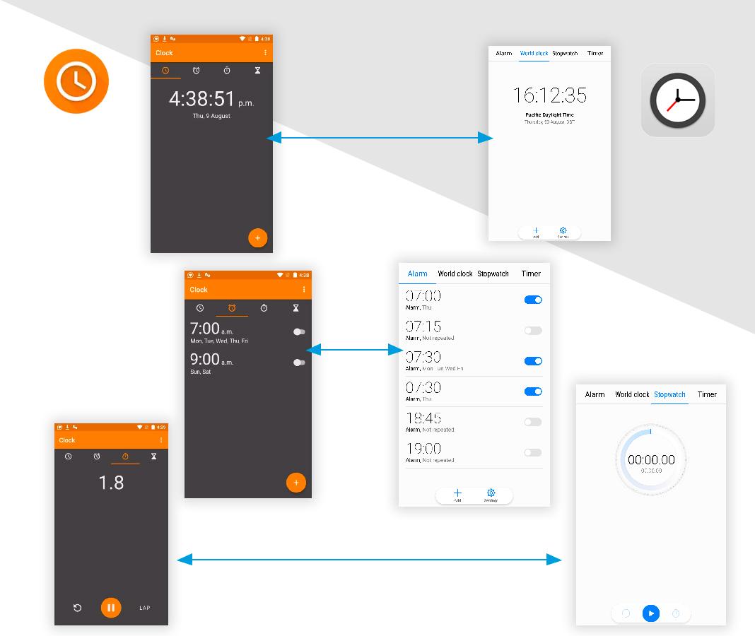 Reloj Simplifica tu móvil Android con estas apps 'open source'