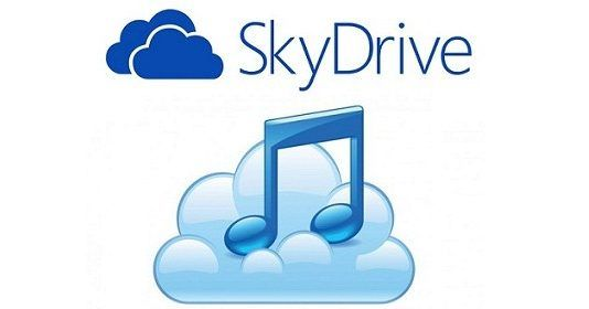 SkyDrive MusicPlayer, reproductor de música online