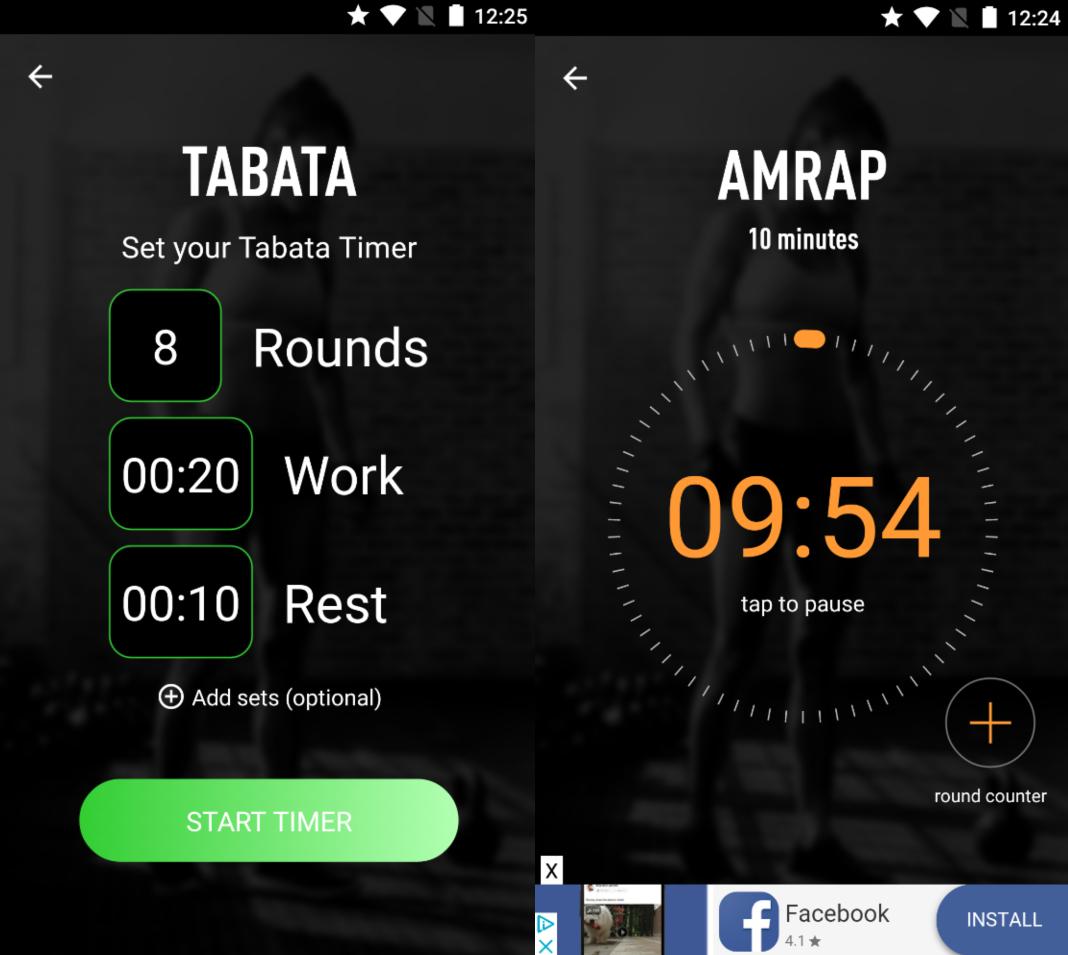 SmartWOD-timer