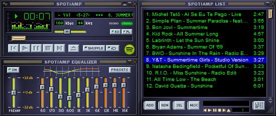 Spotiamp-screenshot