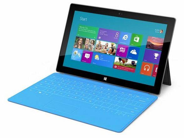 Surface, la tableta de Microsoft