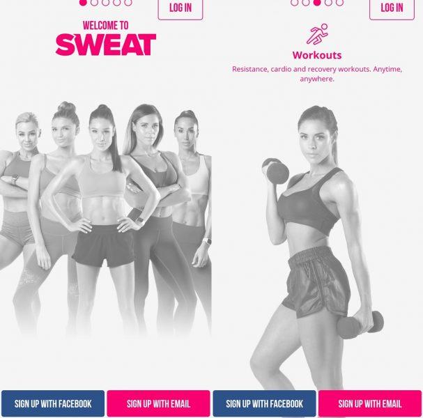 apps para entrenar en casa - Sweat with Kayla