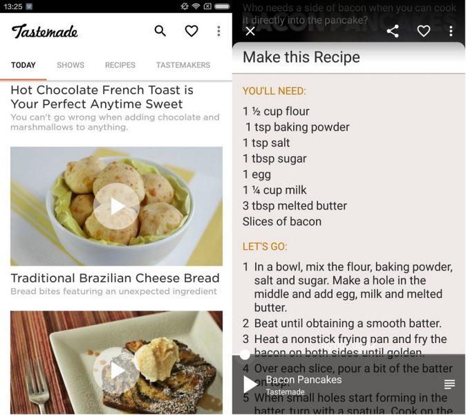 apps para amantes de la cocina - Tastemade