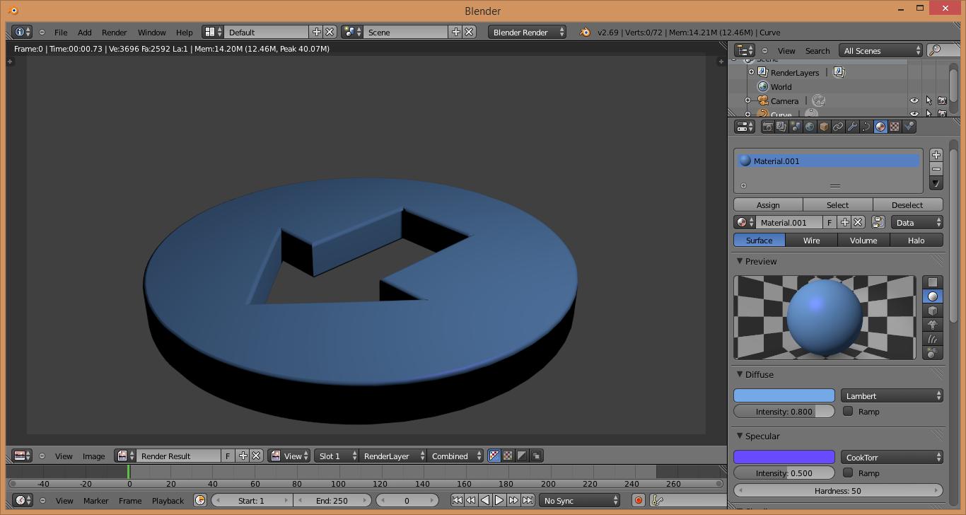 C mo crear logotipos 3d a partir de im genes planas for Programa para crear cocinas 3d