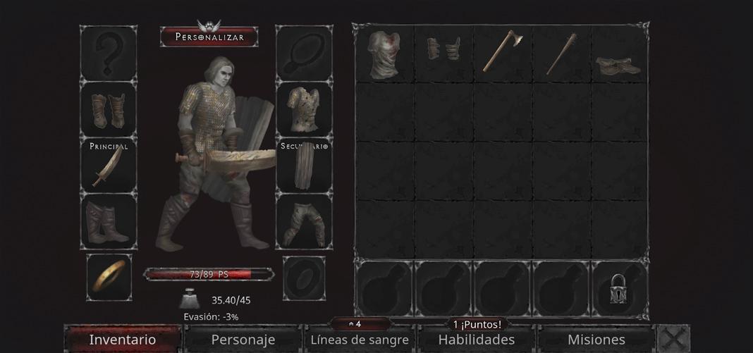 Vampire's Fall: Origins - Character customization