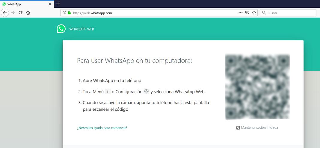 WhatsApp en PC - WhatsApp Web