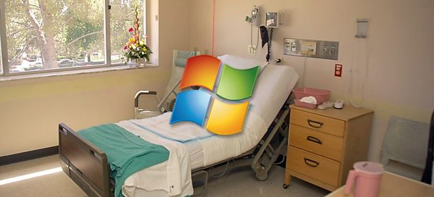 Windows XP hospital