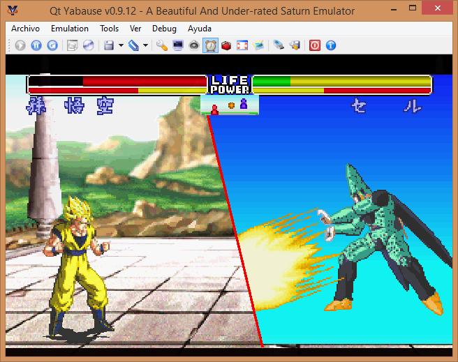 Yabause - Dragon Ball