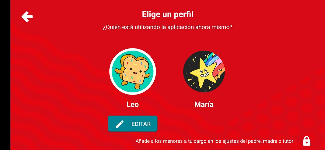 apps infantiles - YouTube Kids
