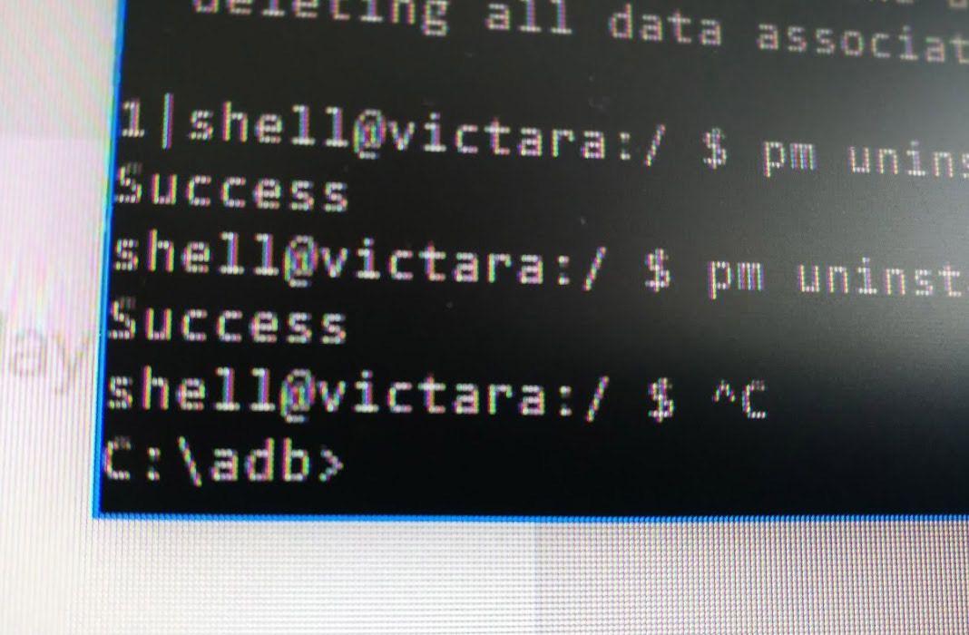 adb driver command line Cómo eliminar bloatware en dispositivos Android sin ser root