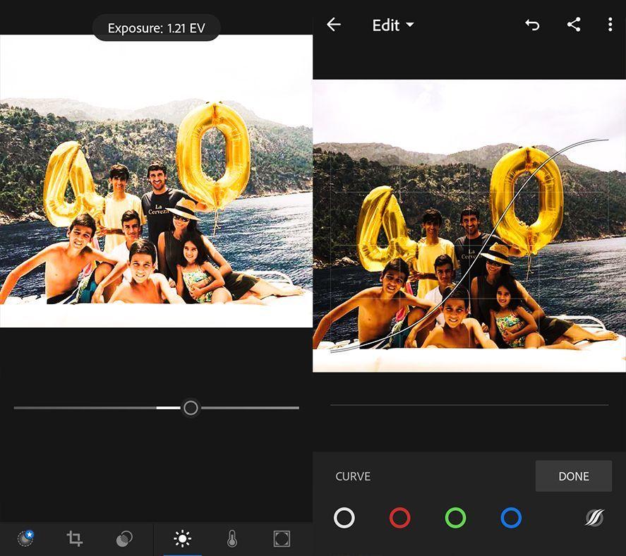 adobe photoshop lightroom screenshot 2 en 10 useful features in Adobe Photoshop Lightroom for Android