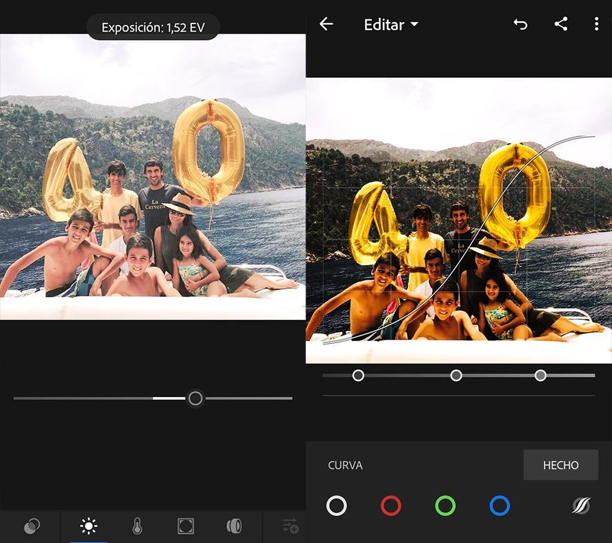 Adobe Photoshop Lightroom Android