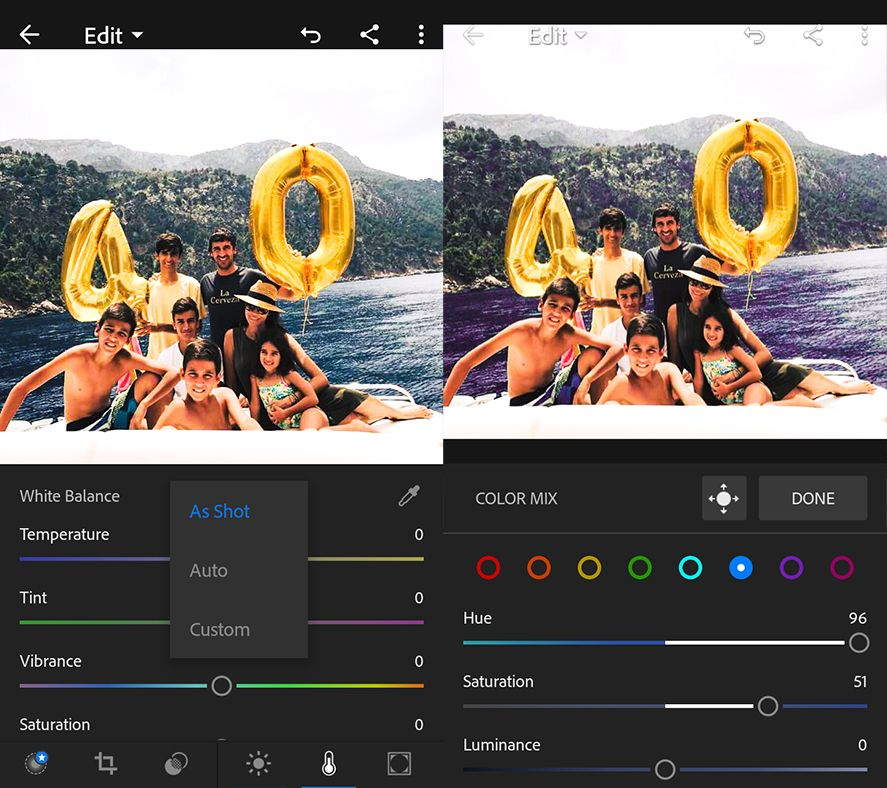 adobe photoshop lightroom screenshot 3 en 10 useful features in Adobe Photoshop Lightroom for Android