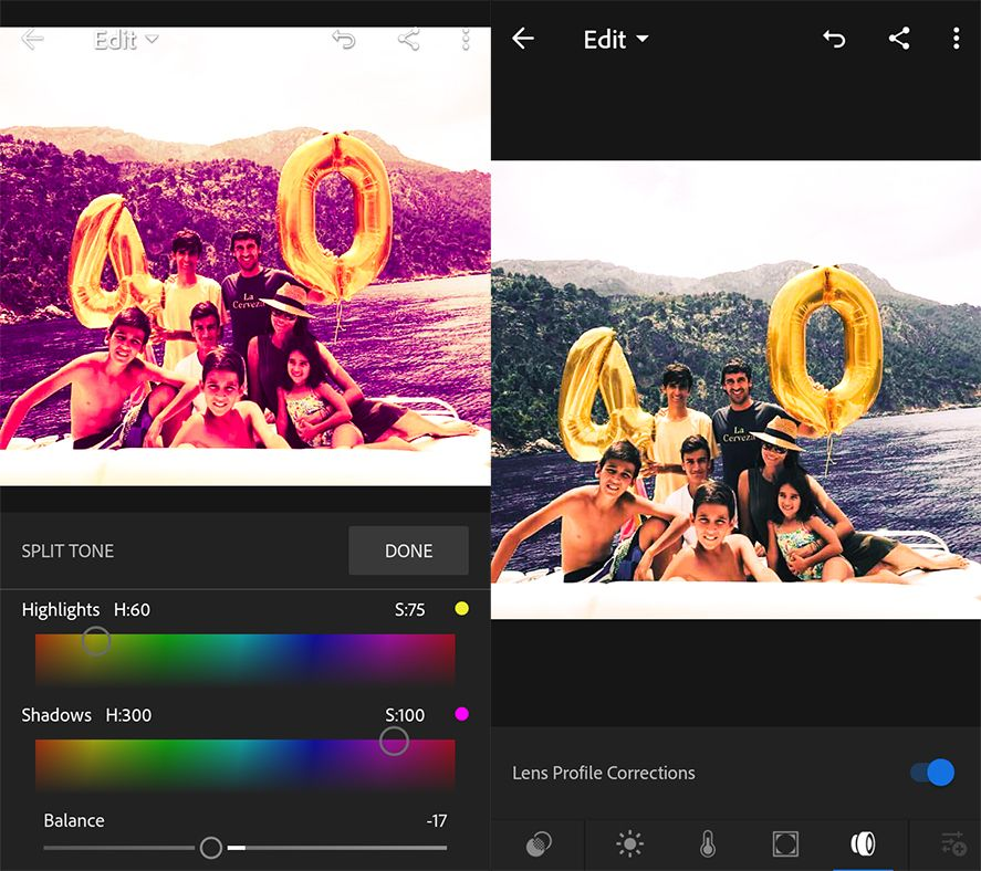 10 useful features in Adobe Photoshop Lightroom for Android