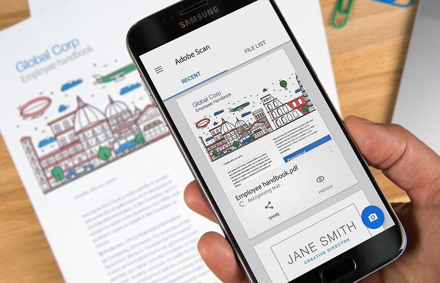 Adobe Lanza Una Herramienta De Escaneo De Documentos Para Android