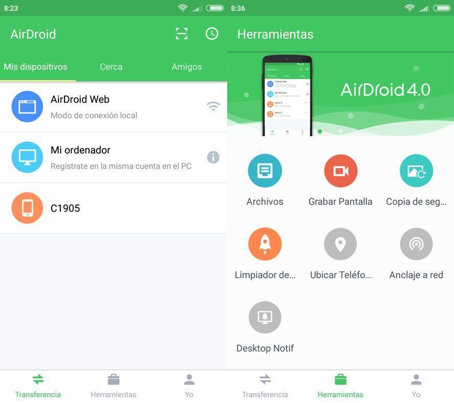 AirDroid 4.0.