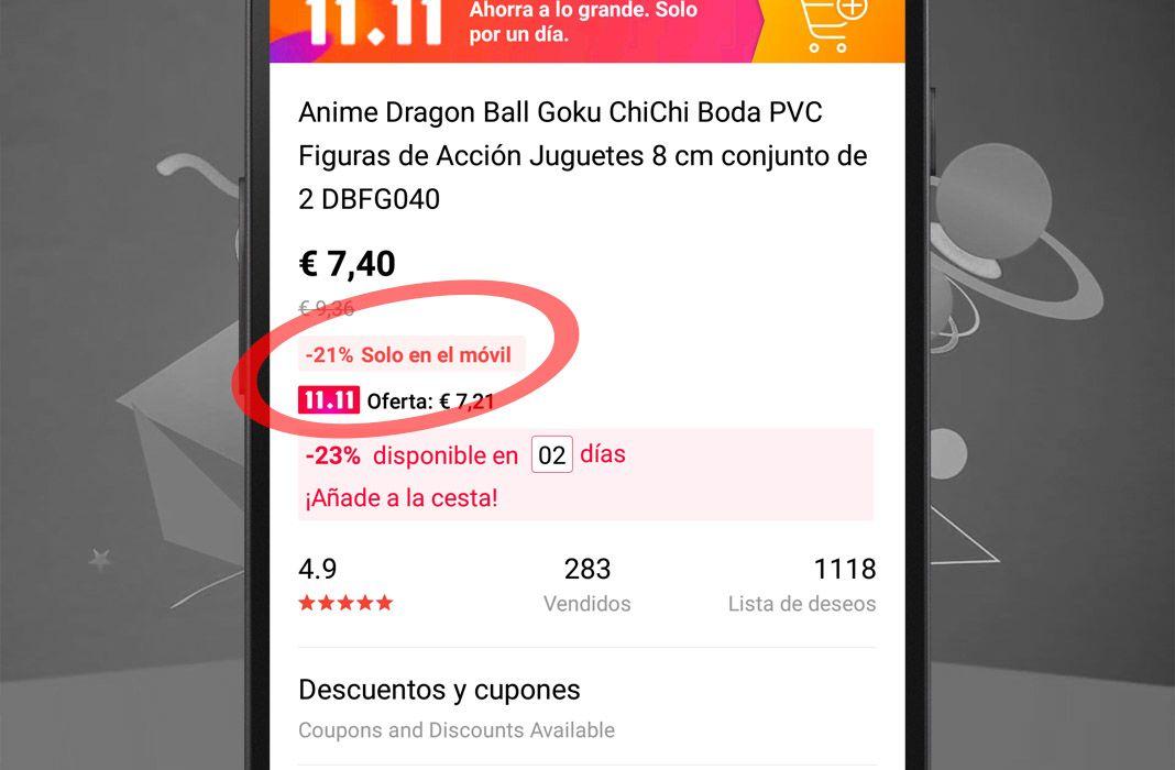 aliexpress 11 11 oferta app Por qué es mejor comprar en Aliexpress a través de su app oficial