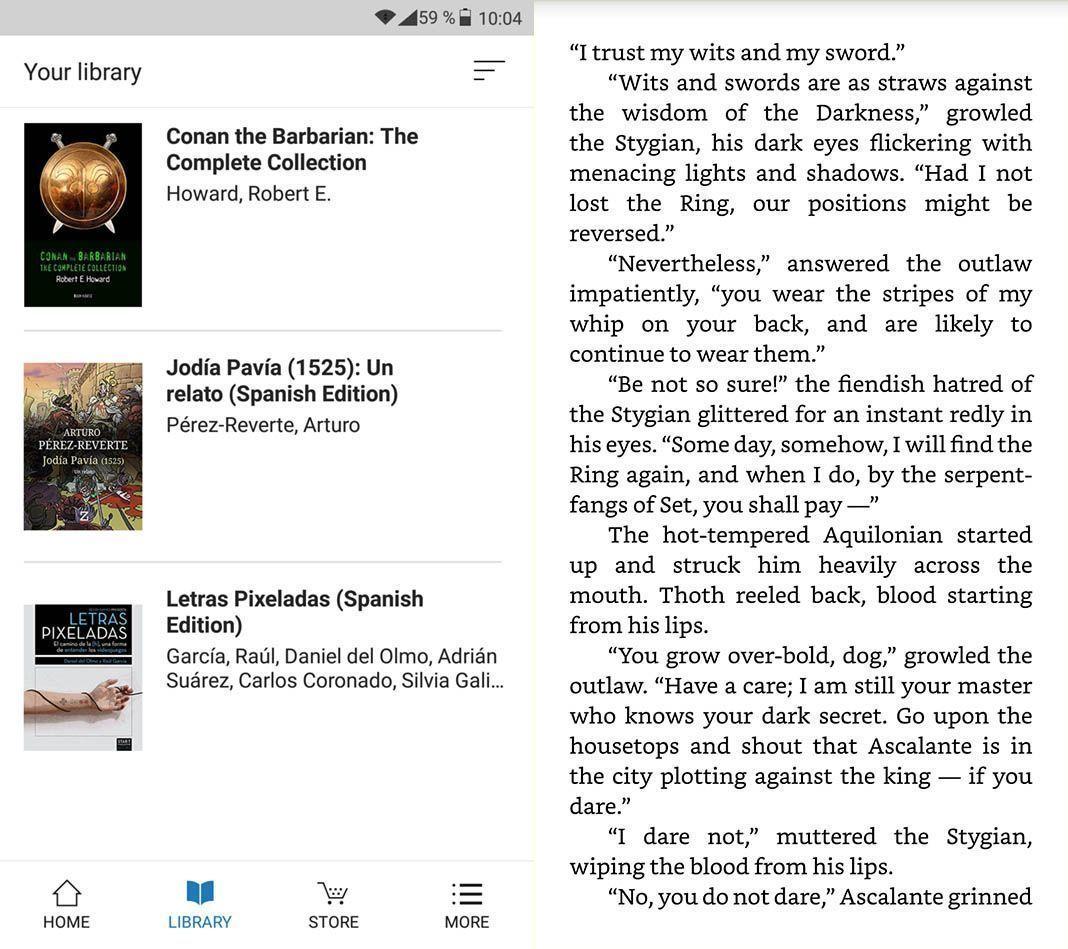 amazon kindle lite 1 Amazon Kindle Lite se suma a la moda de las apps de bajo consumo
