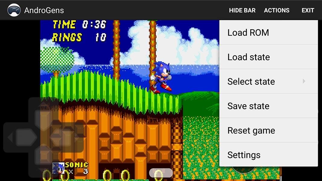 androgens screenshot The best free SEGA Genesis / Mega Drive emulators for Android