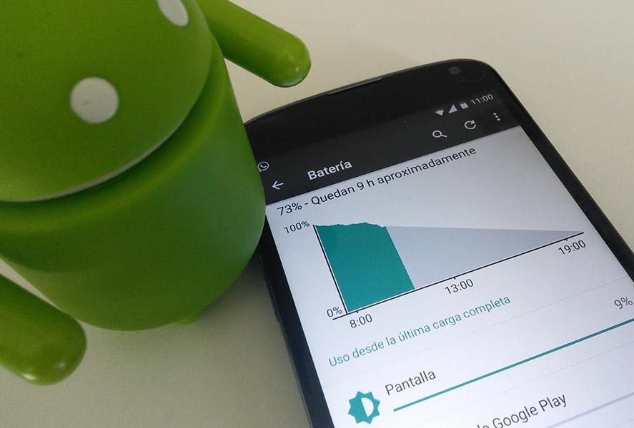 android bateria These apps save on battery by switching your WiFi off automatically