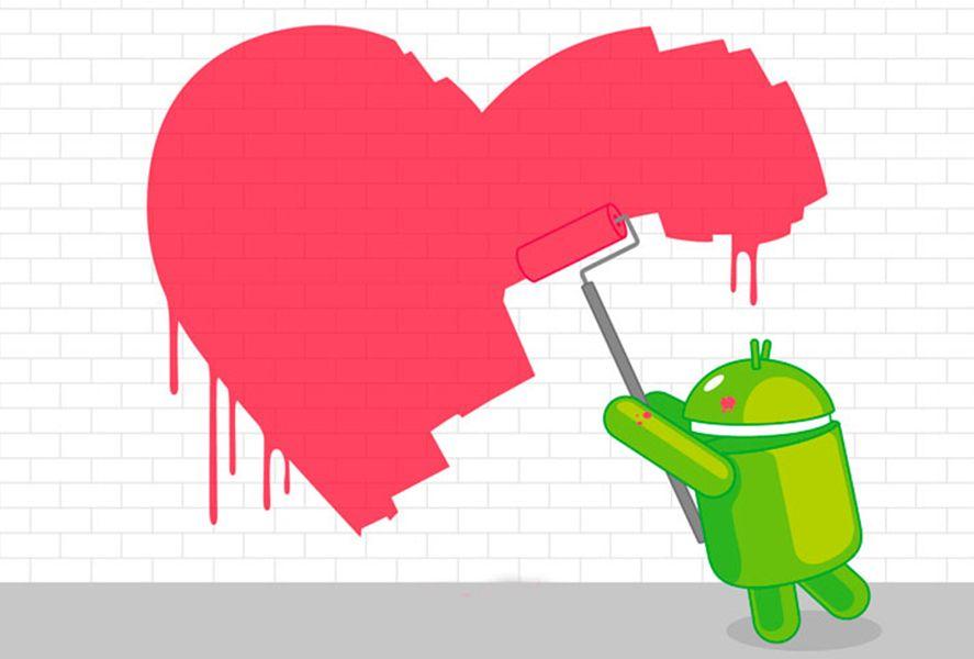 San Valentín Android
