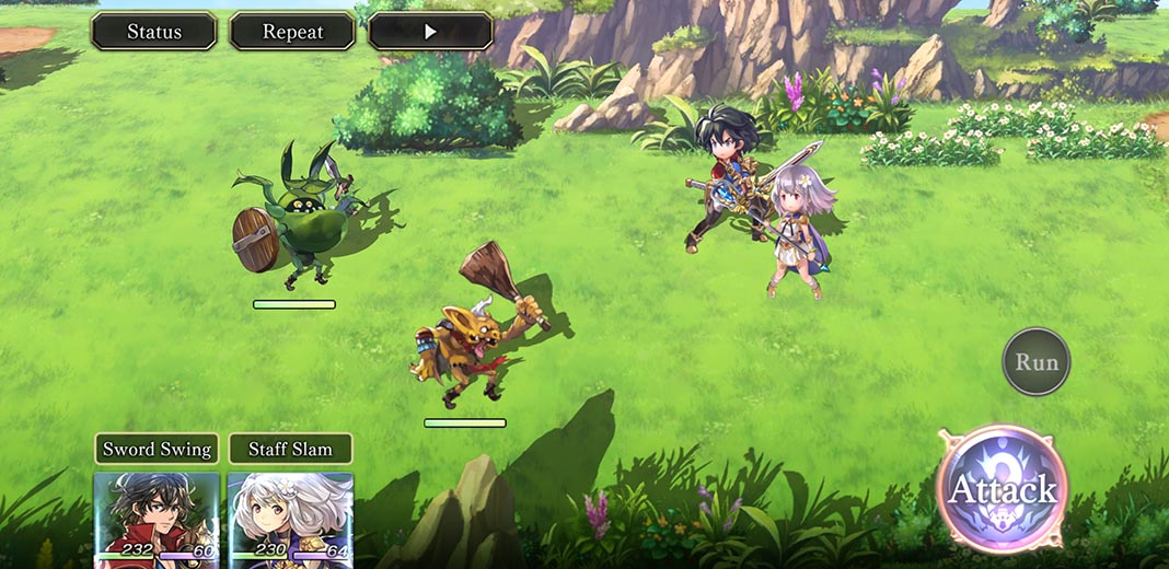 another eden screenshot 1 Another Eden, una joya de JRPG para Android
