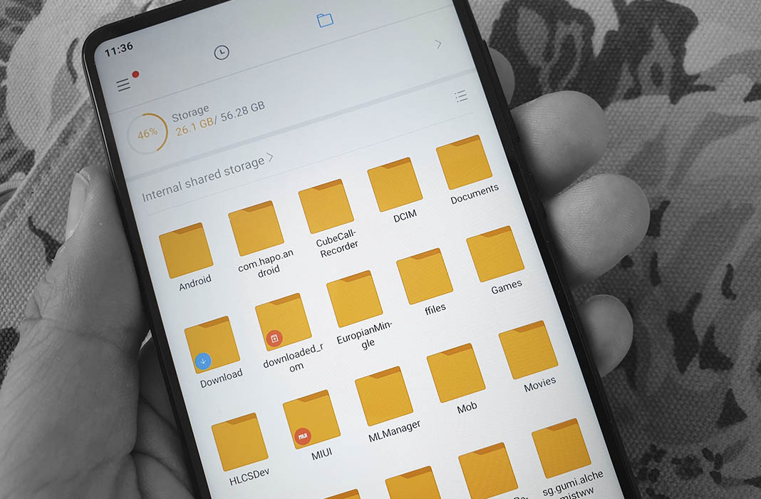 aplicacion galeria archivos android Cómo crear carpetas en tu smartphone