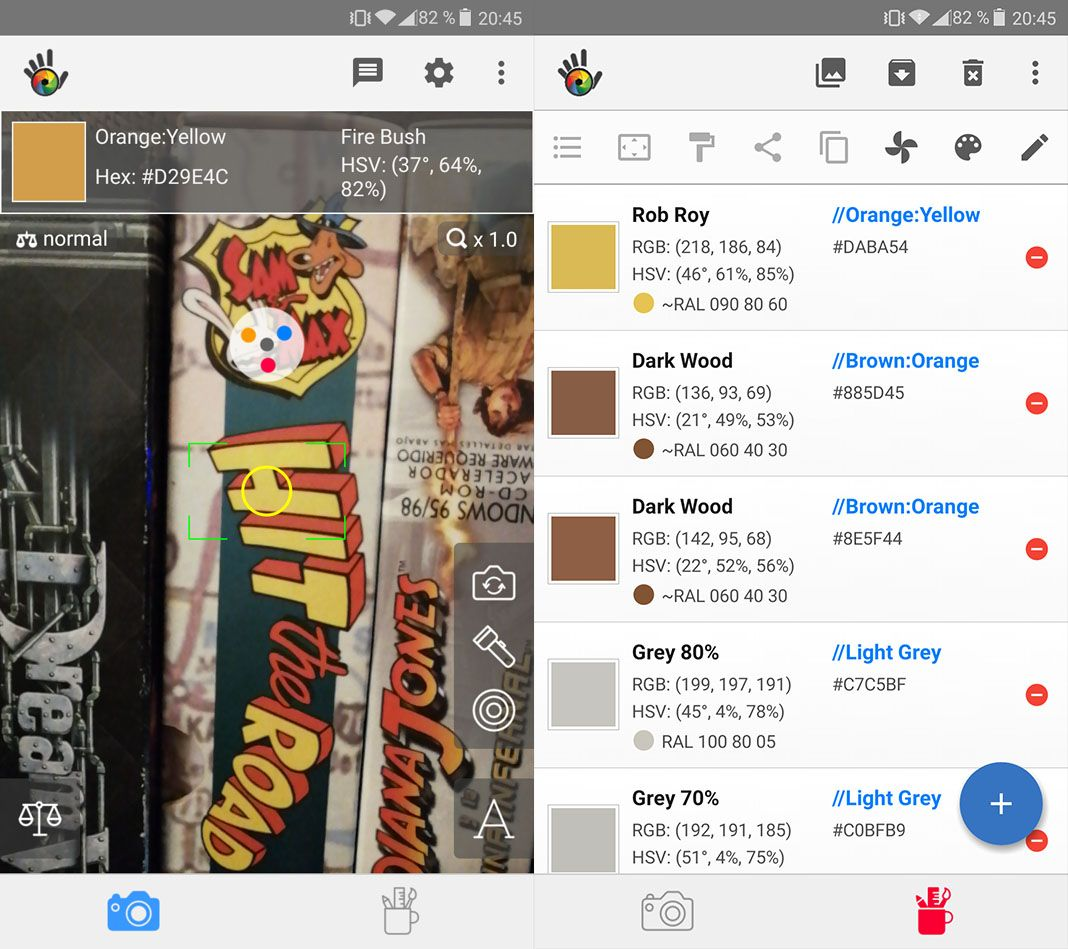apps diseno color grab Diez apps Android de diseño gráfico