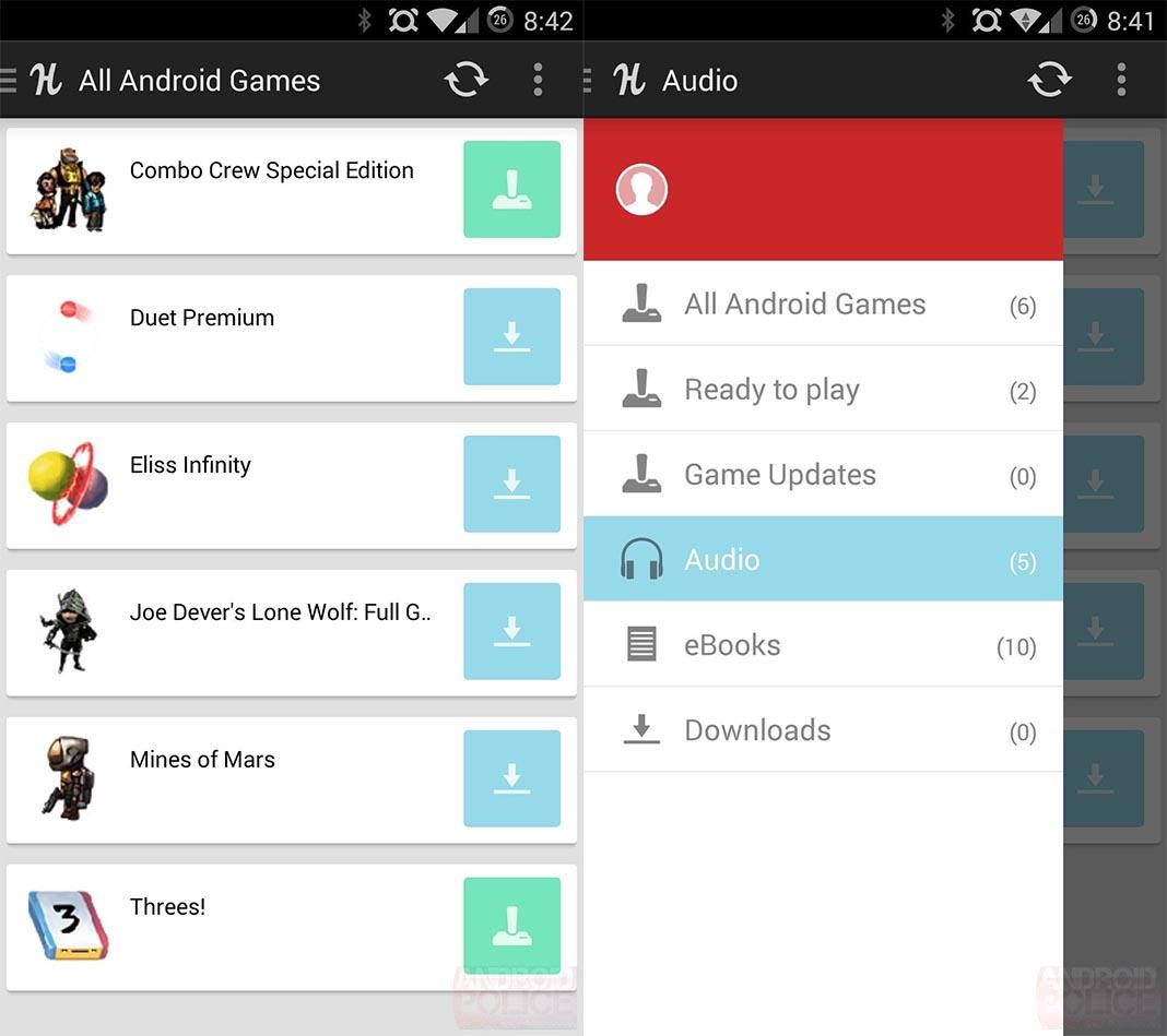 apps fuera google play humble bundle Diez aplicaciones legales que no encontrarás en Google Play