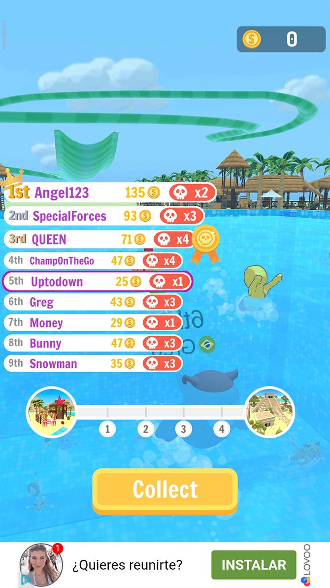 Aquapark.io smartphone