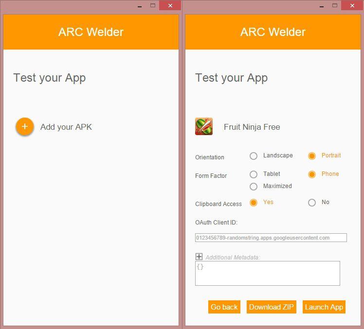 Extensión de Chrome para ejecutar apps de Android en el PC