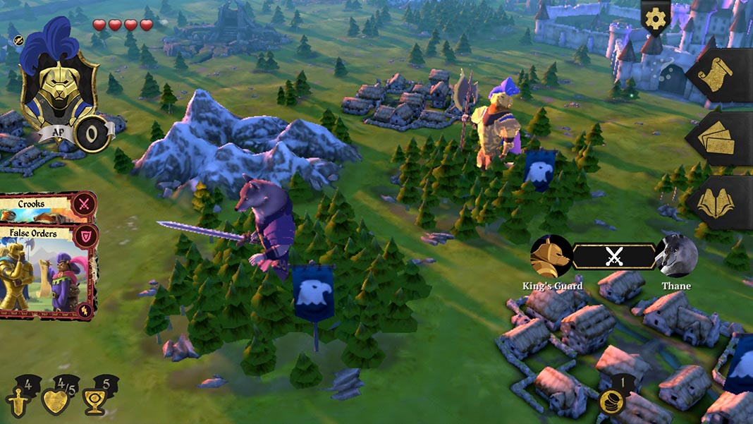 armello screenshot 2 Armello: the beautiful virtual board game is now available on Android