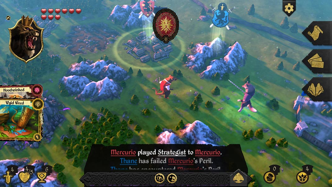 armello screenshot 4 Armello: the beautiful virtual board game is now available on Android